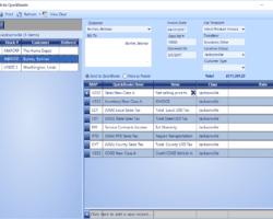 Vehicle Invoice Screenshot