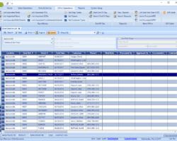 Back Office List Screenshot