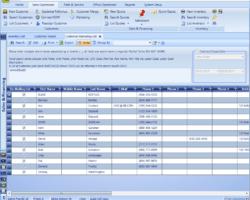 CRM Marketing List Screenshot
