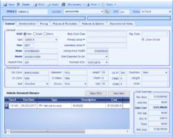 Inventory Form Screenshot