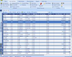 Inventory List Screenshot