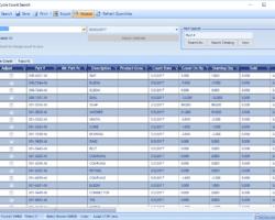 Cycle Count Screenshot