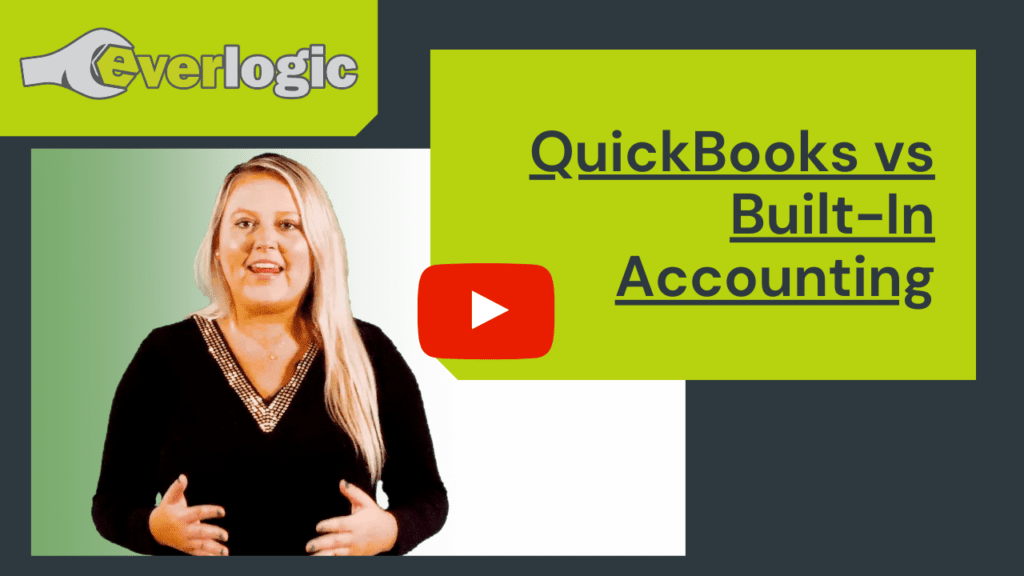 QuickBooks vs Built In Accounting for RV Dealership