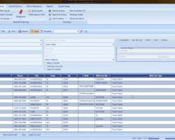 Customer Search Screenshot
