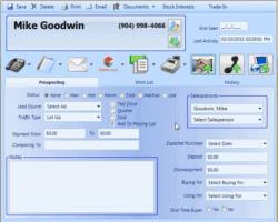 Enter A New Customer Screenshot