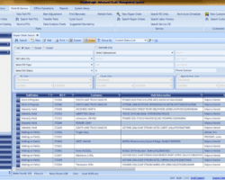 Repair List Screenshot