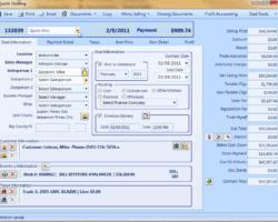 Sales Quote Screenshot