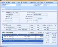 Vehicle Inventory Screenshot